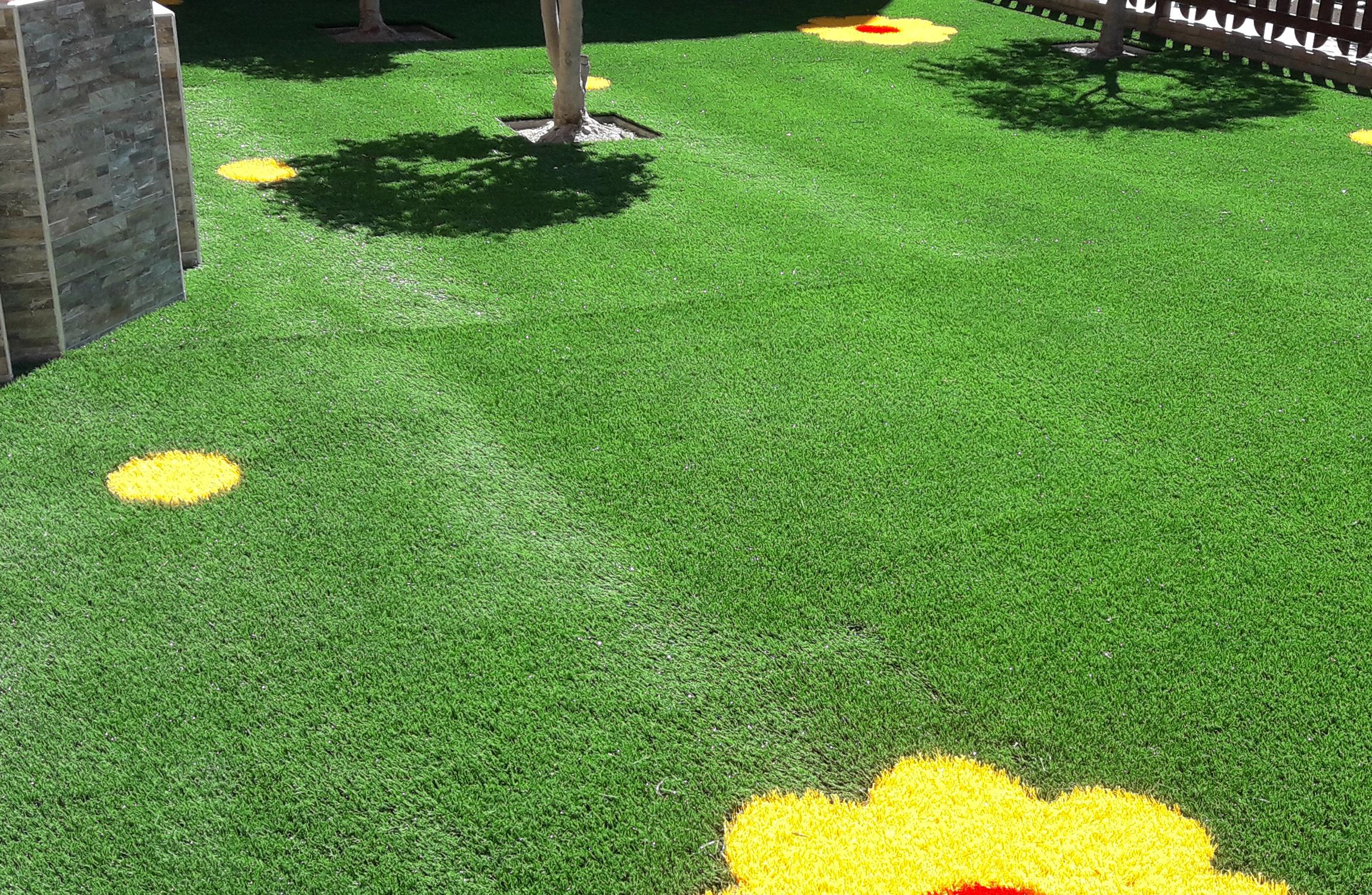 EverGreen: erba sintetica decorativa per la tua area gioco