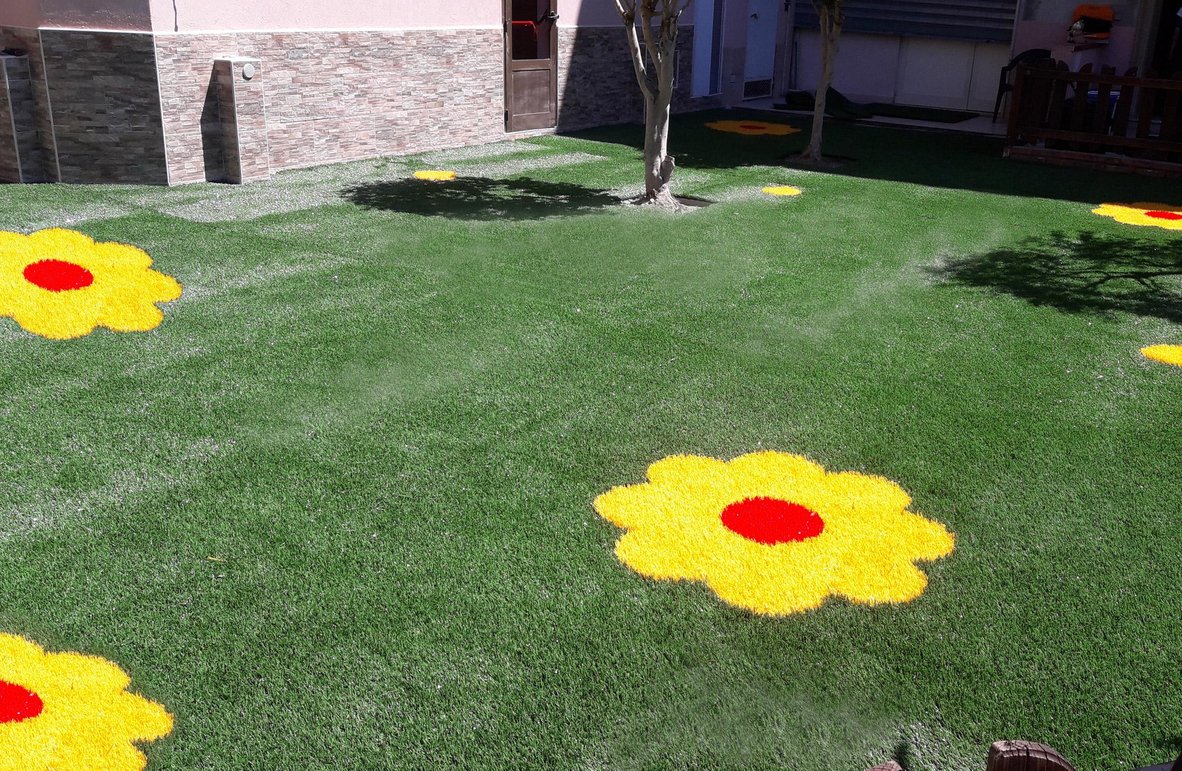 Aree Gioco in erba sintetica decorativa EverGreen