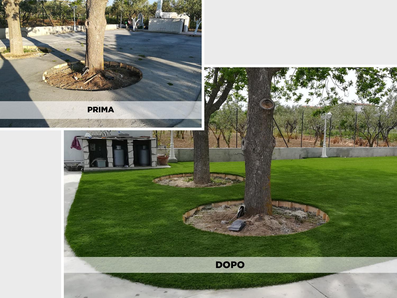 Realizzazioni Evergreen: prima e dopo