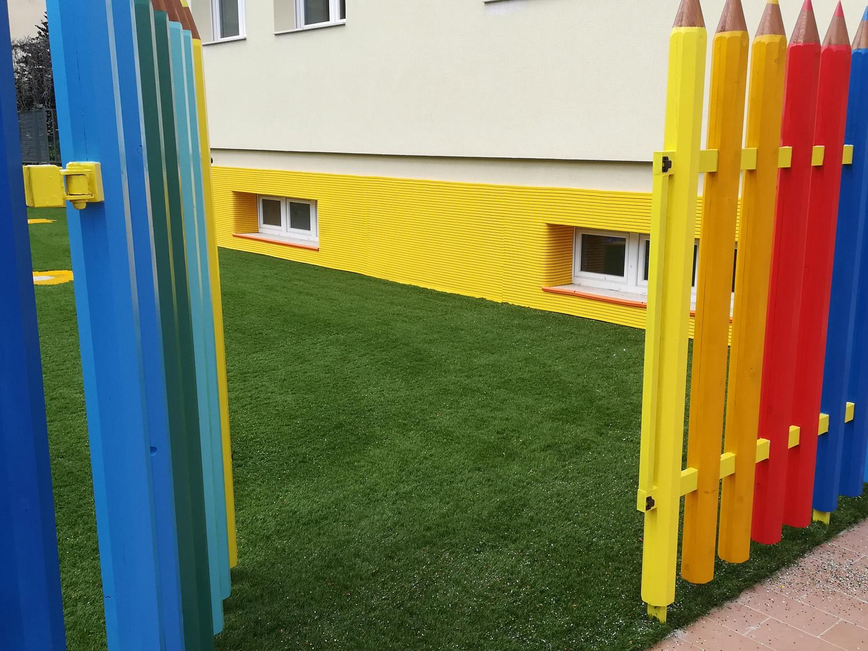 Giardino asilo erba sintetica decorativa EverGreen