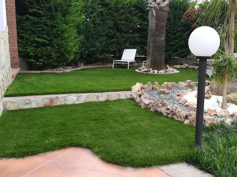 Giardini in erba sintetica decorativa EverGreen